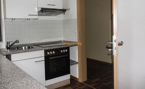 2-Raum-Wohnung mit Terrasse und Einbauküche